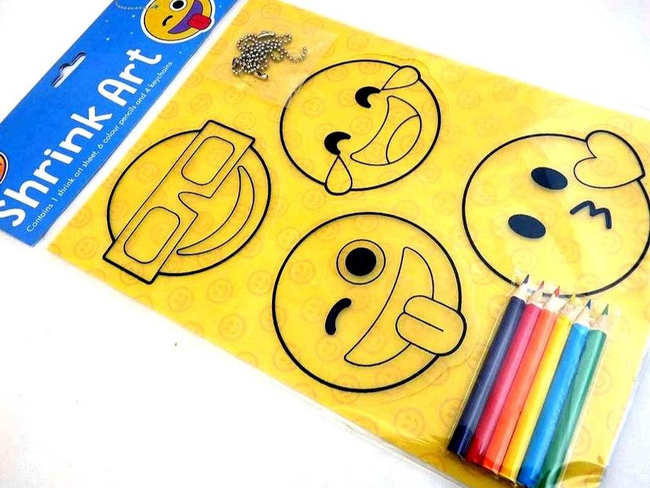 Emoji - Easy Craft Shrink Art Kit