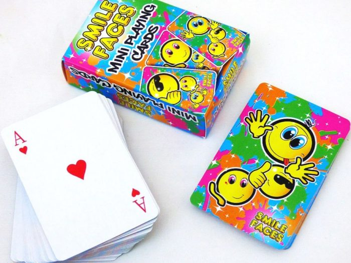 Smiley Faces Miniature Playing Cards