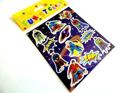 Super Hero Sticker Sheet