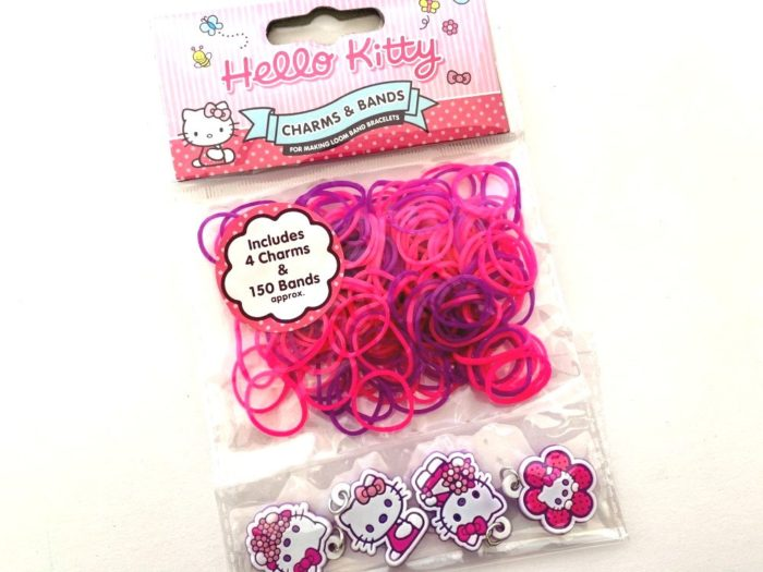 Hello Kitty Loom Bands with Charms