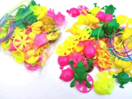 Assortment of party bag and Pinata fillers