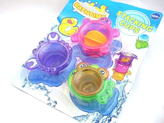 Bath Time Stacking Water Cups