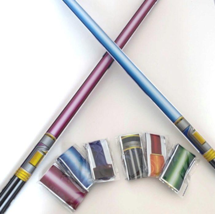 Self- Inflating Light Stick