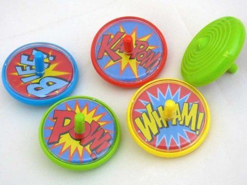 Super Hero Spinning Top
