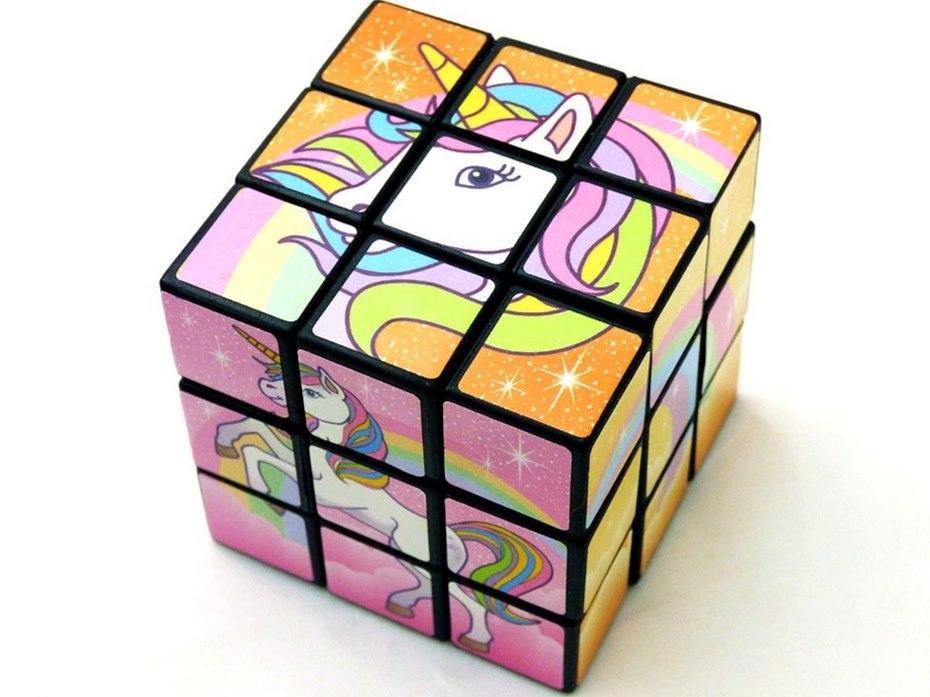 Unicorn Puzzle Cube