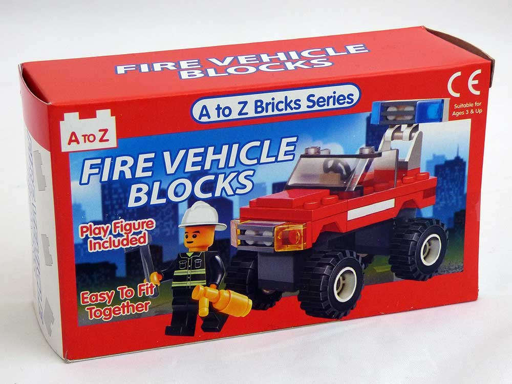 Fire Vehicle Blocks