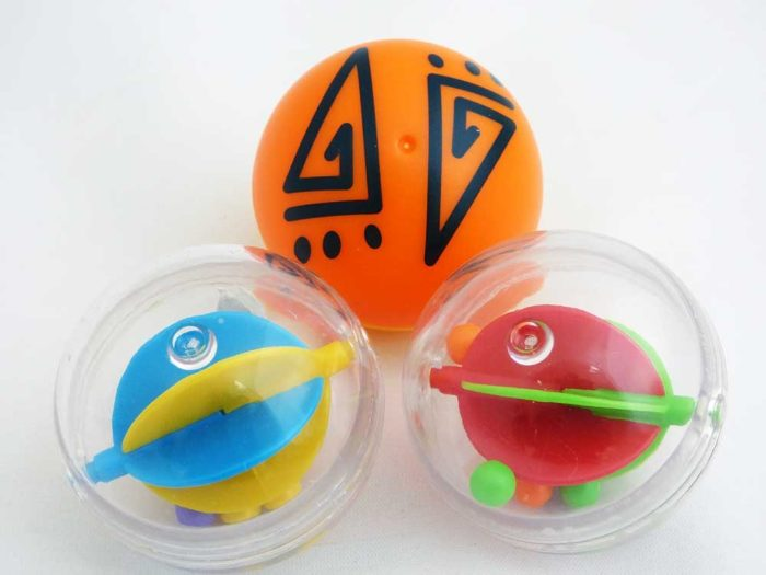 3 Spin & Roll Bubble Balls