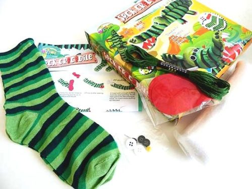 Sock Crocodile Kit