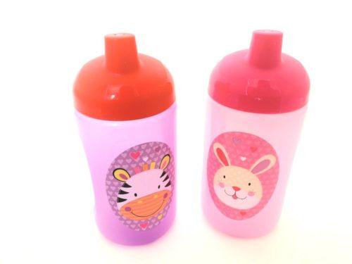 Jungle Pals Super Sipper Cup -  Zebra/Rabbit