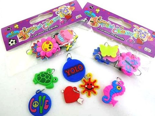 6 Loom Twister Charms
