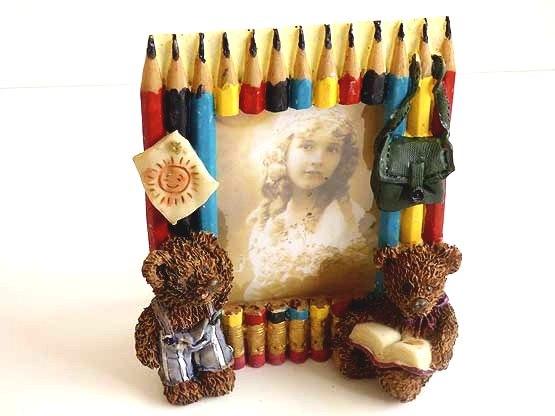 Pencils & Teddy Bears Frame