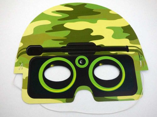 Card Camouflage Mask
