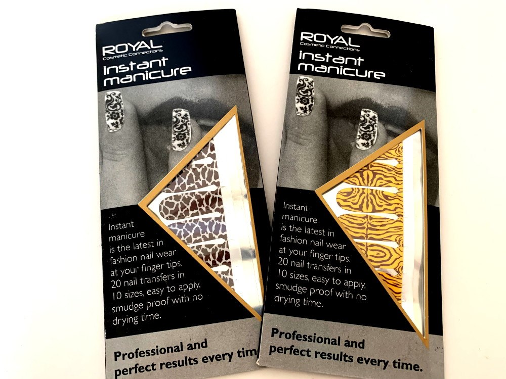 Royal Instant Manicure - Animal Print
