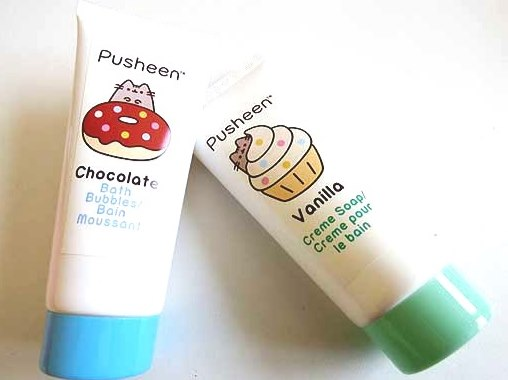 Pusheen Vanilla Creme Soap or Chocolate Bubbles