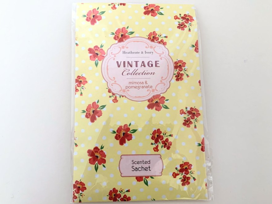 Heathcote & Ivory Vintage Collection Scented Sachet