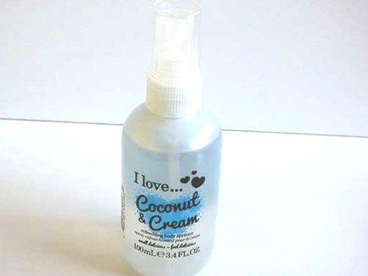 I Love ....Coconut & Cream Spritzer