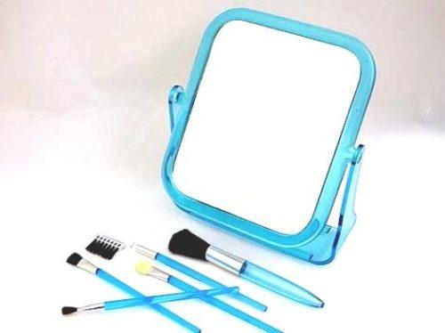 Makeup Mirror & Brushes