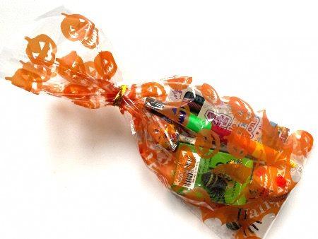 Filled Halloween Cello Bag