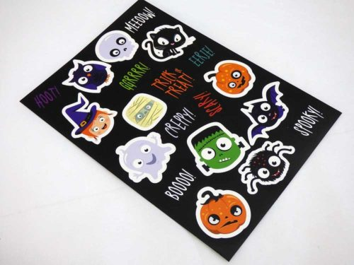 Large Halloween Sticker Sheet