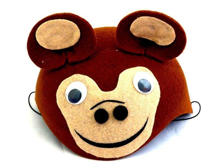 Felt Brown Bear Hat