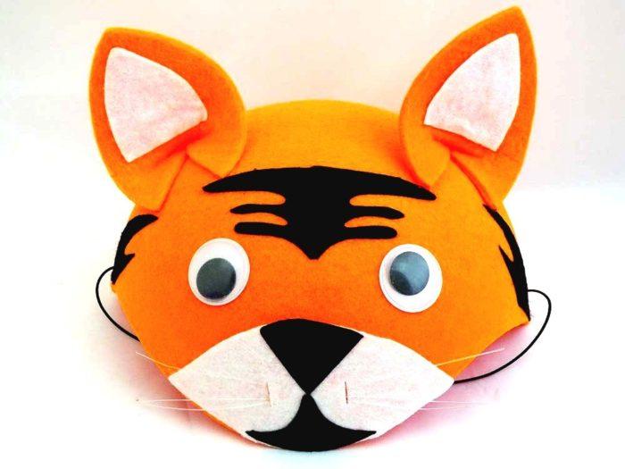 Felt Tiger Hat