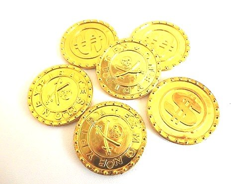Golden Pirate Coin