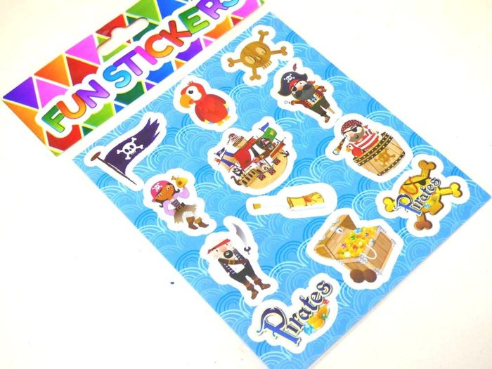 Pirate Sticker Sheet