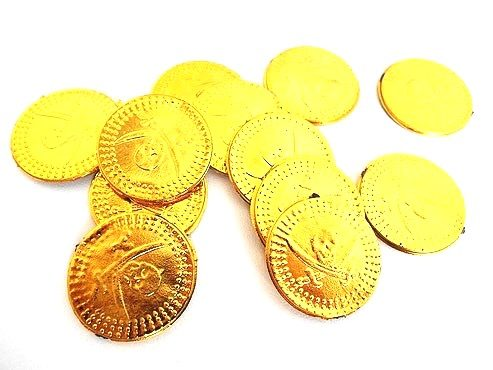 Packet of pirate coins