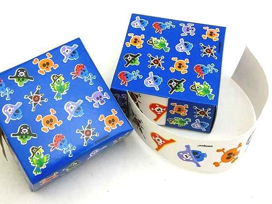 Pirate Mini Sticker Box