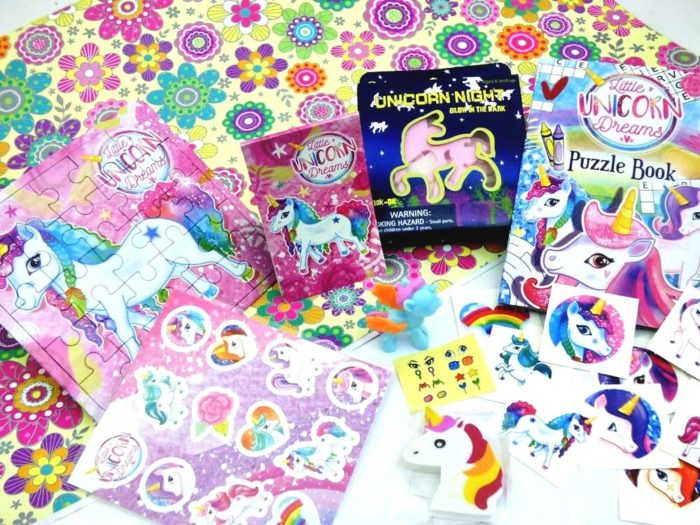 Unicorn Wrapped Pass the Parcel