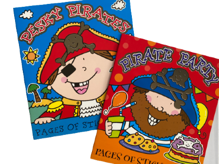 Pirate Sticker Fun Book