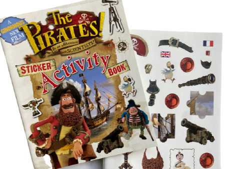 Pirates Activity Sticker Book