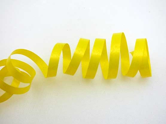 Length Yellow Curling Ribbon