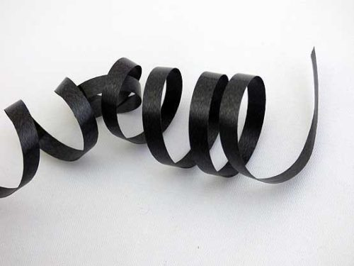Length Black Curling Ribbon