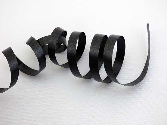 Length Black Curling Ribbon