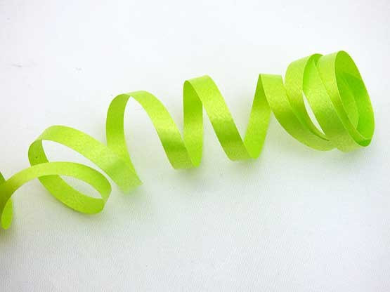 Length Lime Green Curling Ribbon