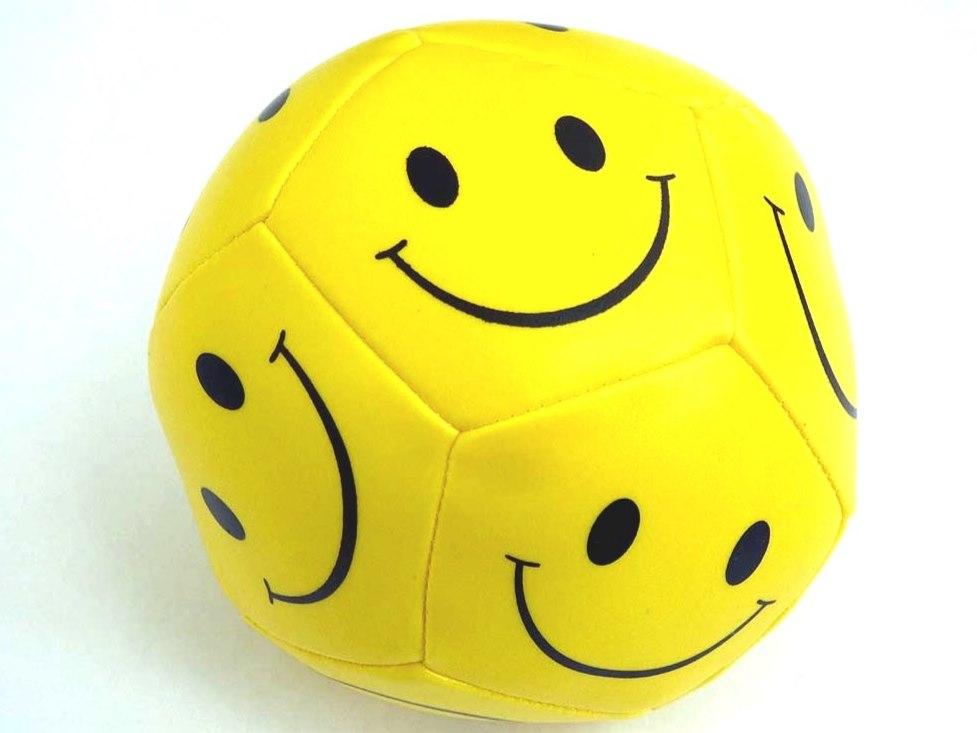 10cm Smiley Soft Ball