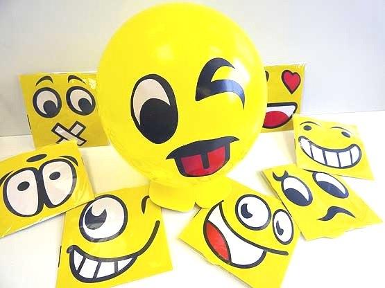 Balloon Smiley Emoji Kit