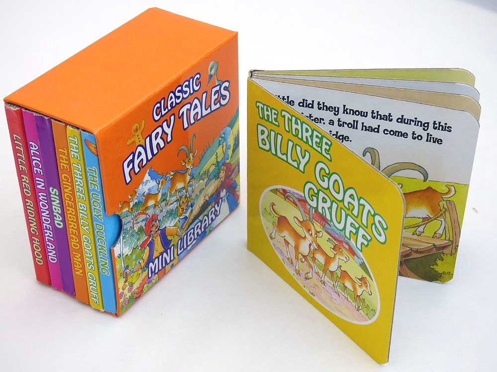 Library of Fairytale Board Books