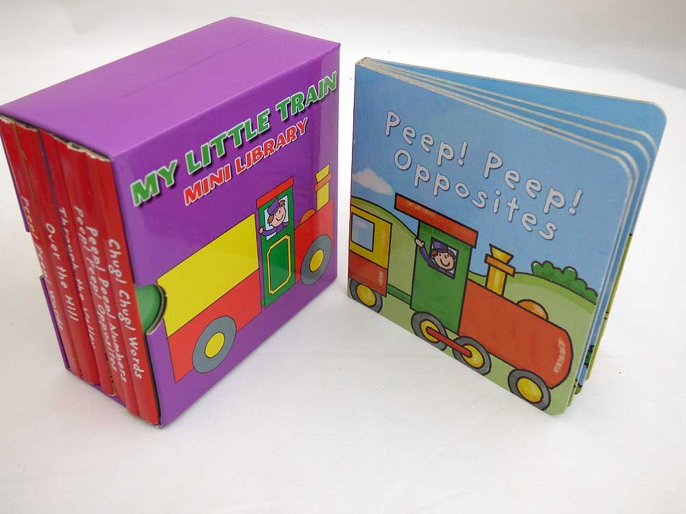 Library of Train Board Books