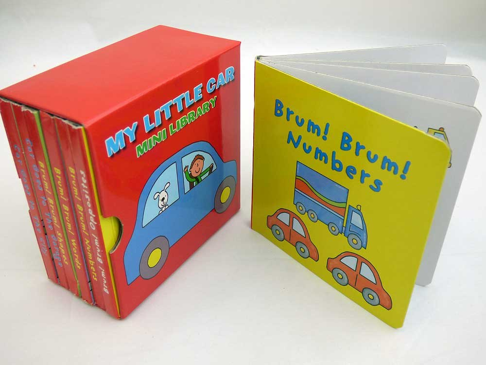 Library of Car Board Books