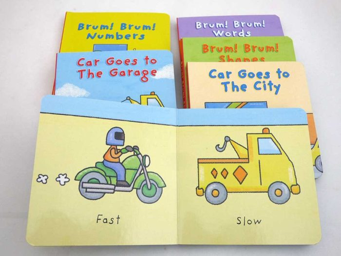 Car Little Board Book