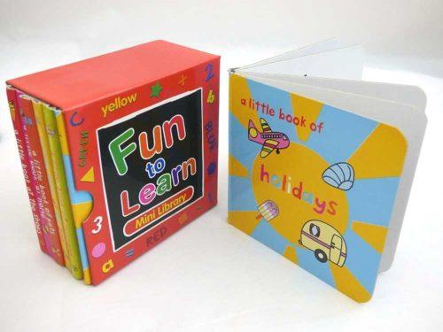 Library of Fun to Learn Board Books (Volume 1)