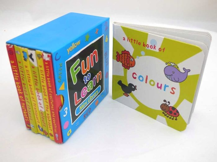 Library of Fun to Learn Board Books (Volume 2)