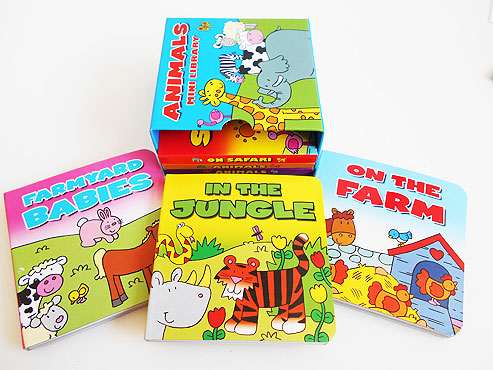 Library of Animal Board Books
