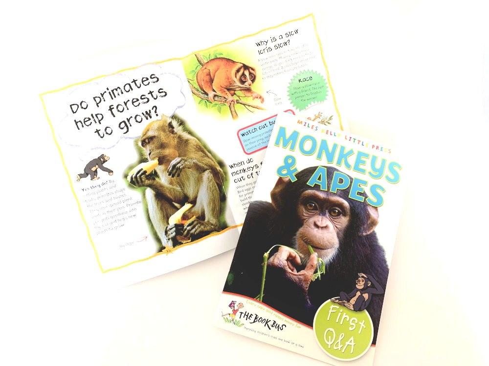 Monkeys & Apes - Miles Kelly Little Press