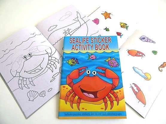 Sealife Sticker Activity Book