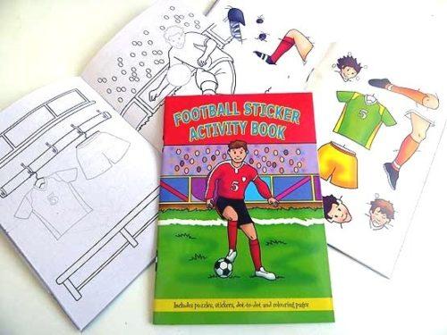 Football Sticker Activity Book
