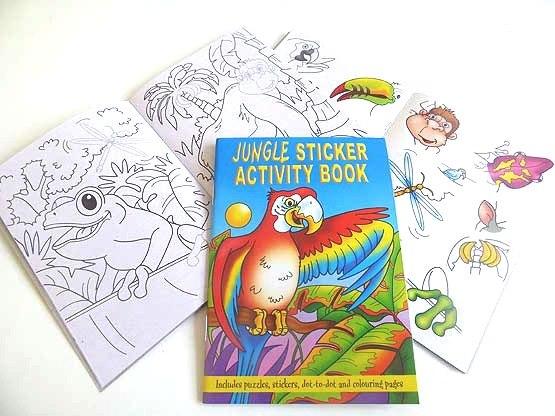 Jungle Sticker Activity Book
