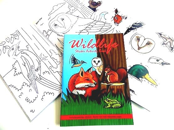 Wildlife Sticker Activity Book
